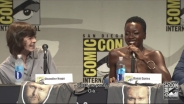 Michonne e Carl di The Walking Dead al SDCC 2015