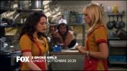 2 Broke Girls da lunedì 7 settembre alle 20.10